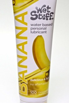 100g TUBE WET BANANA lube