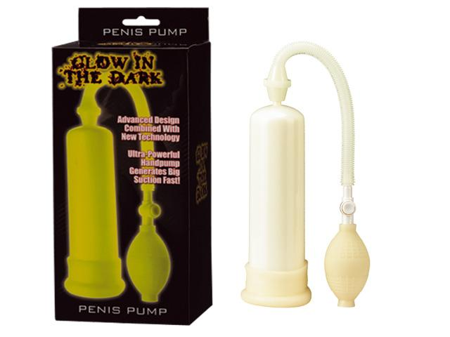 GLOW-IN-THE-DARK-PENIS-PUMP