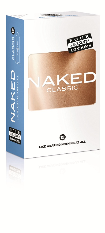 NAKED CLASSIC 12 pack condoms