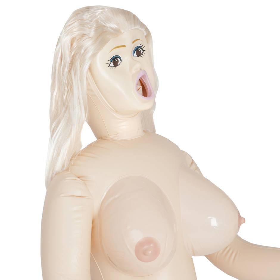 Inflatable big tits real sex doll