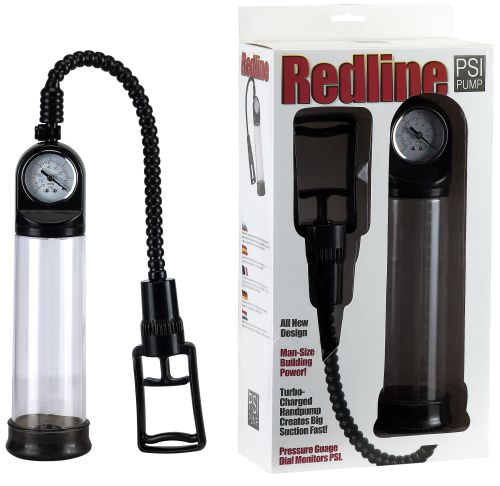 REDLINE PSI PUMP W/BUILT IN VACUUM GAUGE ** BACK IN STOCK **