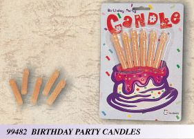 CANDLE PECKER BIRTHDAY PARTY