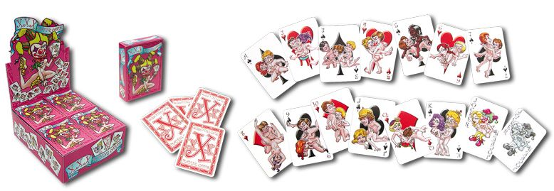 CARDS PLAYING XXX CARTOON