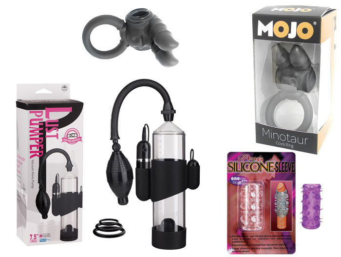cock enhancer sex toy gift pack