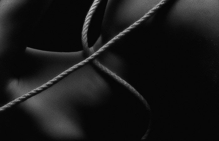 rope bondage on skin